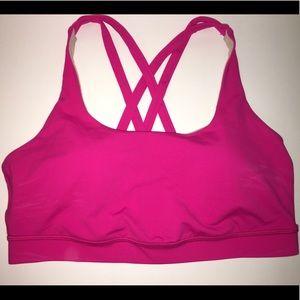 Lululemon sports bra workout top ~ 10